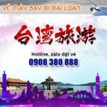 Khu vực quận Bình Thạnh mua vé máy bay đi Đài Loan chỗ nào