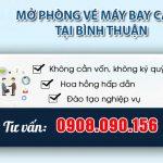 Mở phòng vé máy bay cấp 2 tại Bình Thuận không cần vốn