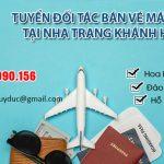 Tuyển đối tác bán vé máy bay tại Nha Trang Khánh Hòa