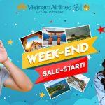 Vietnam Airlines ưu đãi cuối tuần giảm tới 40% giá vé