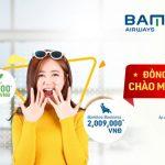 Bamboo Airways ưu đãi đồng giá chào mừng Quốc khánh