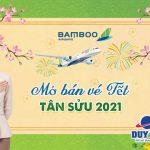 Bamboo Airways mở bán vé máy bay Tết 2021