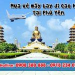 Ở Phú Yên đặt vé máy bay đi Cao Hùng (KHH) Đài Loan được không?