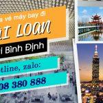 Tại Bình Định mua vé máy bay đi Đài Loan ở đâu?