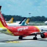 Vietjet khai thác trở lại 3 đường bay quốc tế