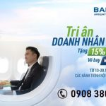 Ưu đãi 15% vé hạng Thương gia của Bamboo Airways