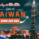 Đại lý bán vé đi Đài Bắc (TPE) Đài Loan tại Khánh Hòa