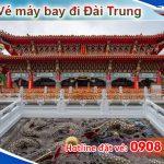 Đặt vé máy bay đi Đài Trung (RMQ) Đài Loan tại Hồ Chí Minh