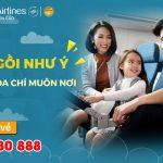 Chọn chỗ ngồi thoải mái chỉ từ 30.000 VND trên chuyến bay của Vietnam Airlines