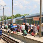 Giảm giá vé tàu cho hành khách đi, đến các tỉnh miền Trung