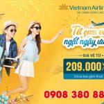 Vietnam Airlines ưu đãi vé Tết Tân Sửu 2021