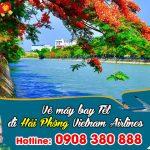 Vietnam Airlines vé Tết đi Hải Phòng bao nhiêu tiền ?