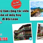 Đăng ký làm cộng tác viên bán vé đi Đài Loan (Taiwan) giá rẻ