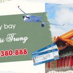 Đặt vé máy bay đi Đài Trung (RMQ) Đài Loan tại Bình Định