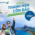 Bamboo Airways mở bán vé đường bay mới Thanh Hóa – Côn Đảo