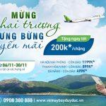 Bamboo Airways tưng bừng khuyến mãi mừng khai trương đường bay Côn Đảo