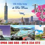 Quận Tân Phú mua vé máy bay đi Đài Loan tại đại lý Việt Mỹ