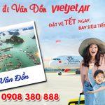 Vé Tết Vietjet Air đi Vân Đồn bao nhiêu tiền ?