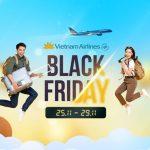 Black Friday 2020 – Vietnam Airlines giảm toàn bộ 15% mức giá
