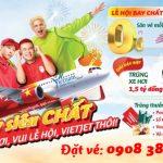 Bay cùng Vietjet – Vui lễ hội, trúng xe hơi, chào năm mới