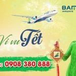 Giá vé Bamboo Airways mùng 3 Tết như thế nào