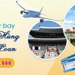 Ở Đắk Lắk đặt vé máy bay đi Cao Hùng (KHH) Đài Loan được không
