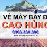 Ở Hải Phòng đặt vé máy bay đi Cao Hùng (KHH) Đài Loan được không