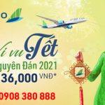 Vé Tết Nguyên Đán 2021 Bamboo Airways