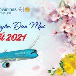 Vietnam Airlines vận chuyển đào, mai dịp Tết Tân Sửu 2021