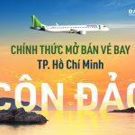 Bamboo Airways mở bán vé đường bay TPHCM – Côn Đảo
