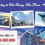 Đặt vé máy bay đi Đài Trung (RMQ) Đài Loan tại Thanh Hóa