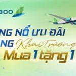 Bùng nổ ưu đãi Mua 1 tặng 1 – Bamboo Airways