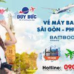 Vé Tết Sài Gòn Phú Quốc hãng Bamboo Airways bao nhiêu tiền ?