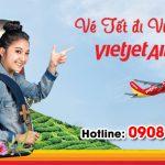 Vé Tết Vietjet Air đi Vinh bao nhiêu tiền?