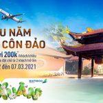 Đầu năm thăm Côn Đảo với ưu đãi giảm đến 200K từ Bamboo Airways