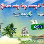Giá vé Bamboo Airways mùng 5 Tết có giảm chưa
