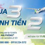 Đặt vé máy bay Bamboo Airways – Mua 3 tính tiền 2