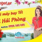 Vé Tết Vietjet Air đi Hải Phòng bao nhiêu tiền ?
