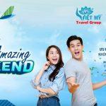 AMAZING WEEKEND – Ưu đãi đặt vé cuối tuần Bamboo Airways