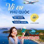 Bamboo lại thêm đường bay mới, tuyến Vinh – Phú Quốc