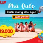 Ngao du Phú Quốc cùng Vietjet, giá vé từ 49k/chặng