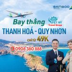 Bamboo mở đường bay thẳng Thanh Hóa – Quy Nhơn