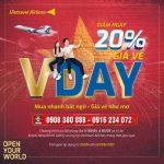 Đón lễ 30/4 & 01/5 Vietravel Airlines giảm 20% giá vé