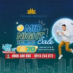 Giảm 20% vé toàn chặng nội địa trong Mid-night Sales của Vietnam Airlines