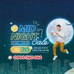 Vietnam Airlines giảm giá vé dịp Mid-night Sales