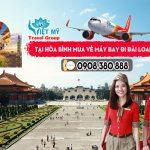 Tại Hòa Bình mua vé máy bay đi Đài Loan ở đâu?