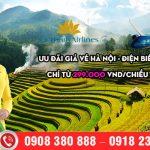 Ưu đãi giá vé Hà Nội – Điện Biên chỉ từ 299.000 VND/chiều