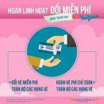 Hoàn linh hoạt, Đổi miễn phí với Vietnam Airlines