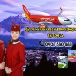 Đặt vé máy bay đi Đài Trung (RMQ) Đài Loan tại Sơn La